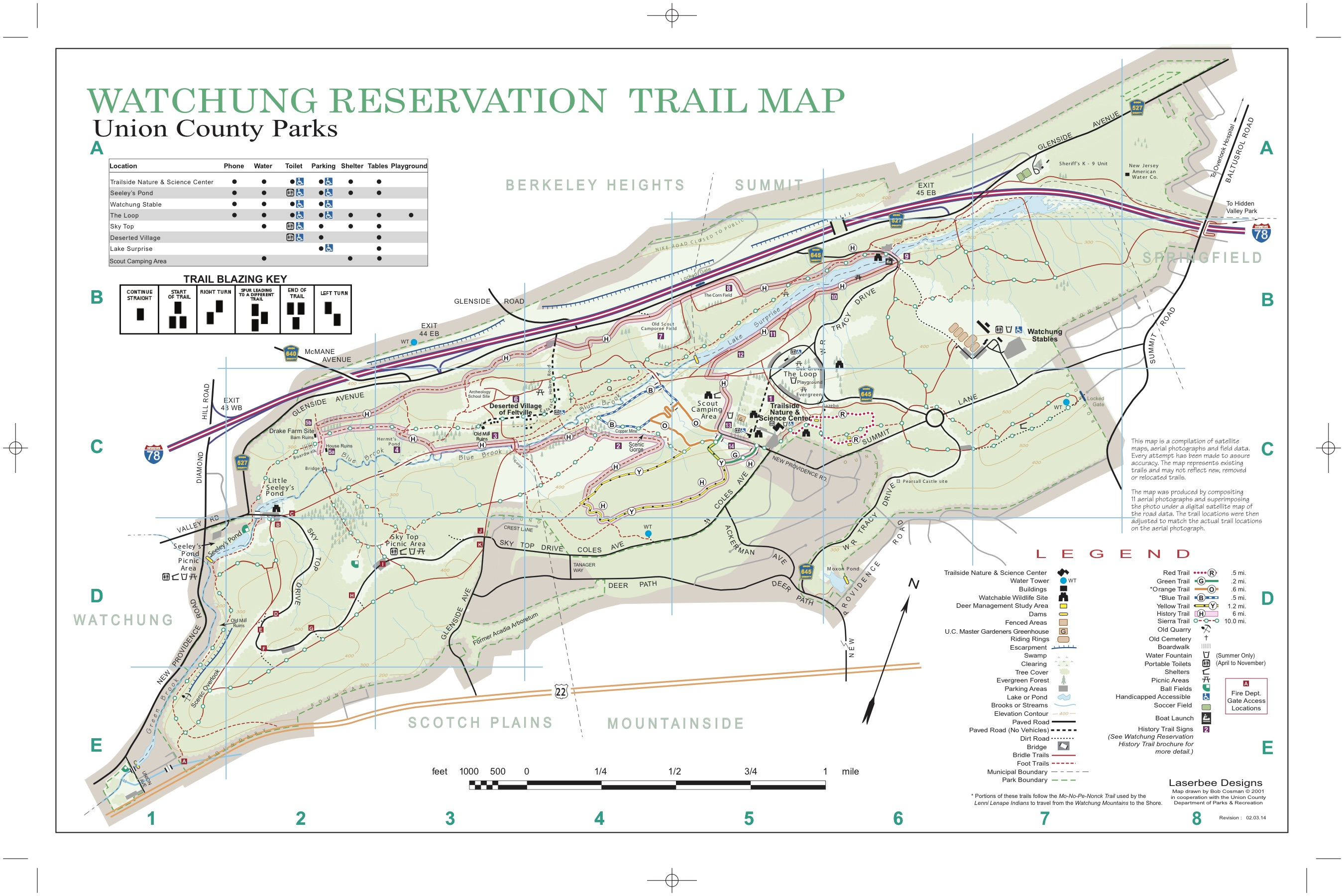 Google Maps NJ Hiking Trails – That Suburban Life